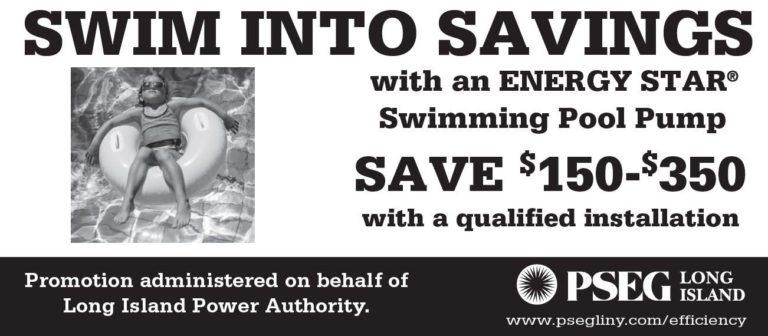 Pool Pump Rebate